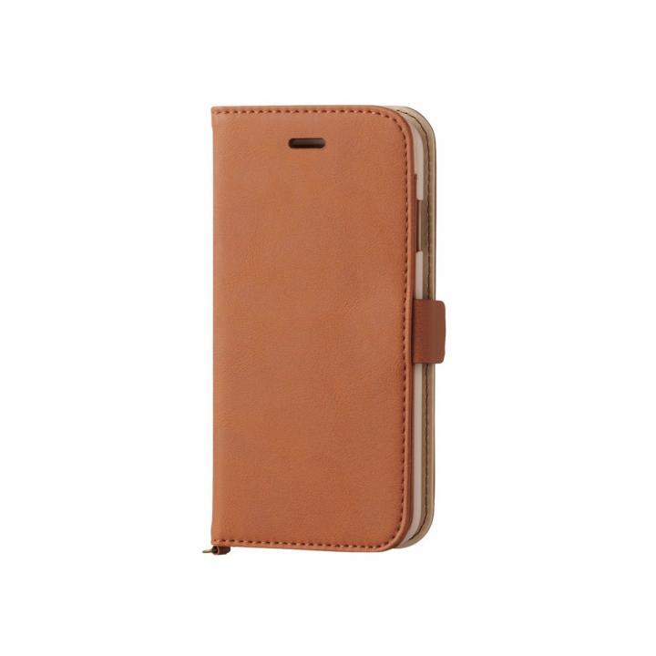 【iPhone6sケース】マグネット ソフトレザー手帳型ケース ブラウン iPhone 6s_0