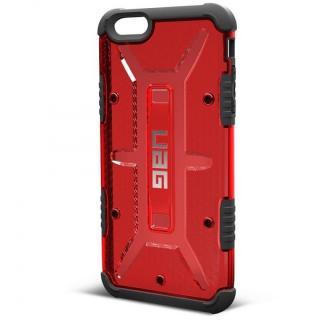 UAG 耐衝撃コンポジットケース クリアレッド iPhone 6s Plus/6 Plus