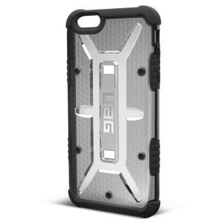 iPhone6s Plus ケース UAG 耐衝撃コンポジットケース クリアグレー iPhone 6s Plus/6 Plus