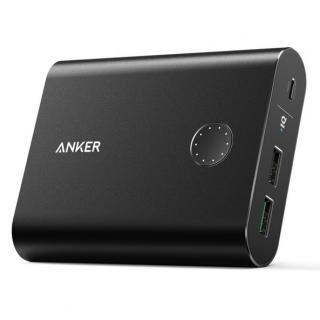 Anker PowerCore+ 13400 QC3.0 モバイルバッテリー 13400mAh ブラック【9月下旬】