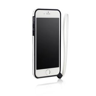 ストラップ一体型軽量バンパー ホワイト iPhone 6バンパー