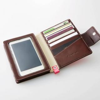 カードスロットたっぷりの手帳型ケース