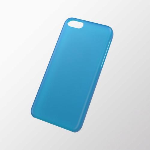 iPhone 5c用 シェルカバー(薄型) ブルー_0