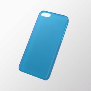 iPhone 5c用 シェルカバー(薄型) ブルー