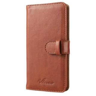 合成皮革手帳型ケース ブラウン iPhone 6ケース