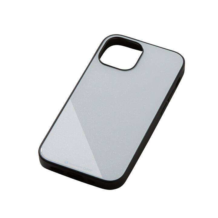 Hybrid Case Etanze エタンゼ メタリックホワイト iPhone 13 mini_0
