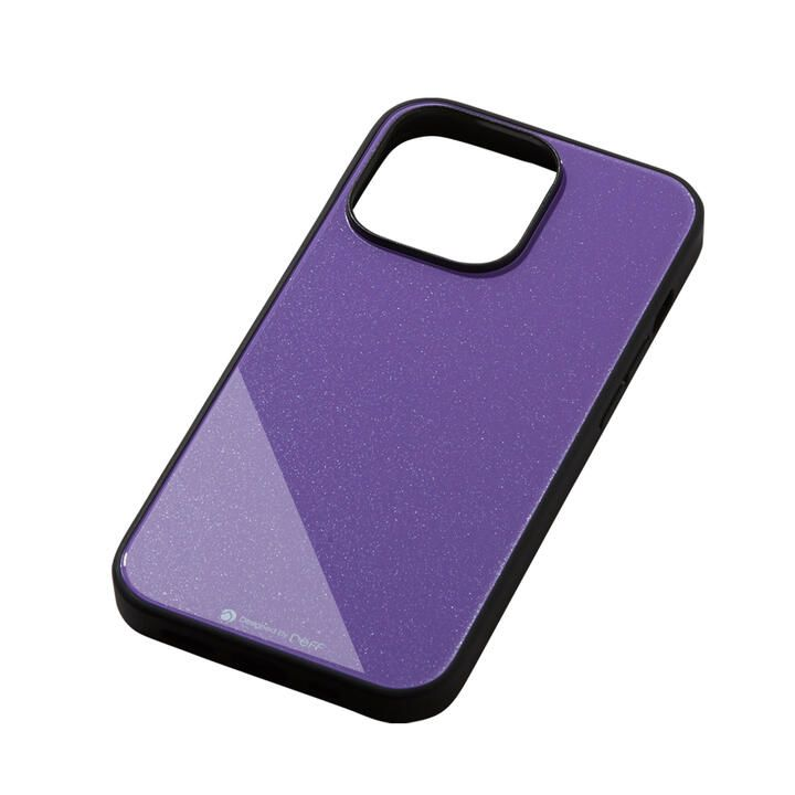 Hybrid Case Etanze エタンゼ メタリックパープル iPhone 13 Pro_0