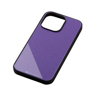 iPhone 13 Pro ケース Hybrid Case Etanze エタンゼ メタリックパープル iPhone 13 Pro