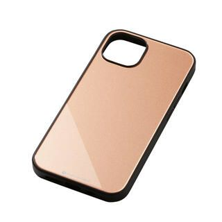 iPhone 13 ケース Hybrid Case Etanze エタンゼ メタリックゴールド iPhone 13