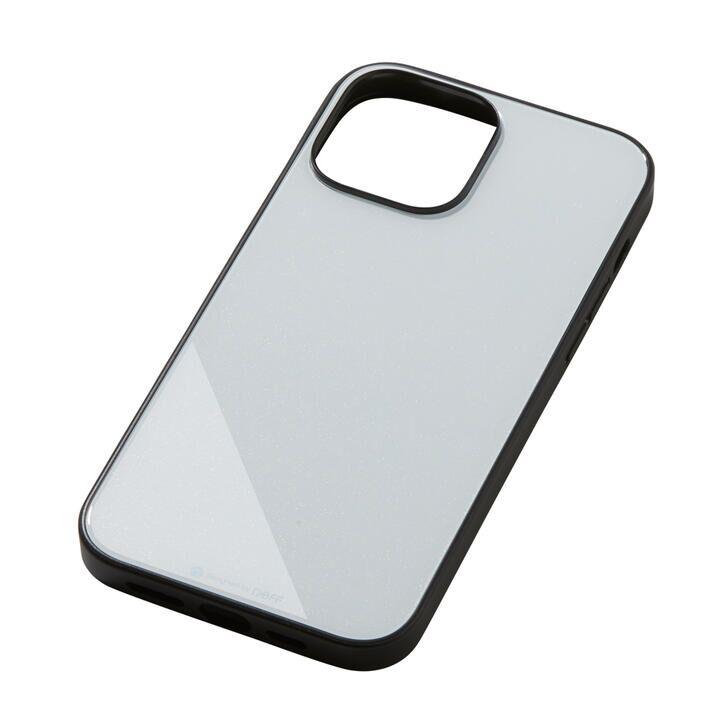 Hybrid Case Etanze エタンゼ メタリックホワイト iPhone 13 Pro Max_0