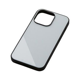 iPhone 13 Pro ケース Hybrid Case Etanze エタンゼ メタリックホワイト iPhone 13 Pro