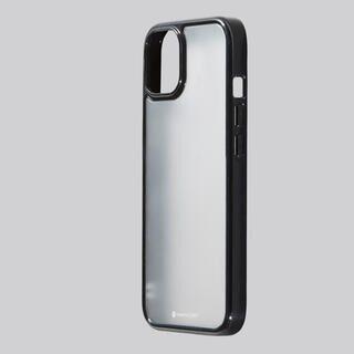 iPhone 13 mini (5.4インチ) ケース Hybrid Case Etanze Lite エタンゼ ライト ブラック iPhone 13 mini