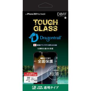 iPhone 13 / iPhone 13 Pro (6.1インチ) フィルム TOUGH GLASS 透明 iPhone 13/iPhone 13 Pro