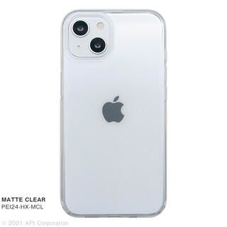 iPhone 13 ケース CRYSTAL ARMOR HEXAGON MATTE CLEAR iPhone 13