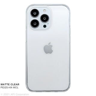 iPhone 13 Pro ケース CRYSTAL ARMOR HEXAGON MATTE CLEAR iPhone 13 Pro【10月上旬】