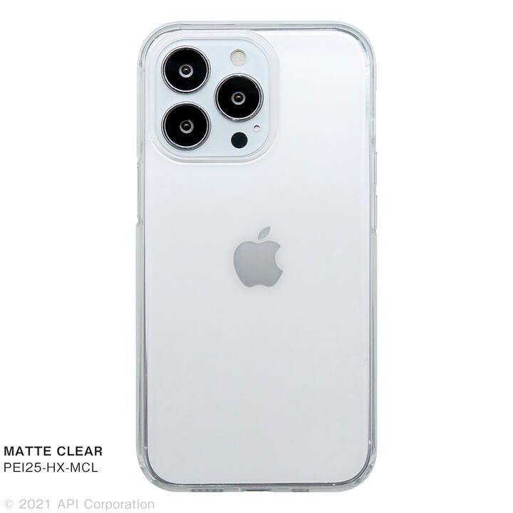 CRYSTAL ARMOR HEXAGON MATTE CLEAR iPhone 13 Pro【10月上旬】_0