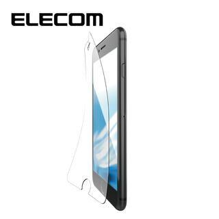 iPhone8/7/6s/6 フィルム エレコム 超最強強化 強化ガラス硬度9H ブルーライトカット iPhone 8/7/6s/6