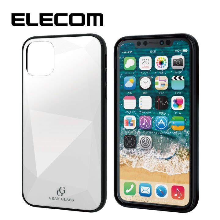 iPhone 11 ケース エレコム 3種構造 ハイブリッドケース ホワイト iPhone 11_0