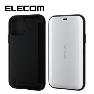 iPhone 11 Pro ケース エレコム TOUGH SLIM 衝撃吸収手帳型ケース ホワイト iPhone 11 Pro