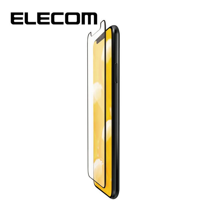 iPhone 11 Pro/XS フィルム エレコム フルカバー超耐衝撃保護フィルム 指紋防止 高光沢 iPhone 11 Pro/X/XS_0