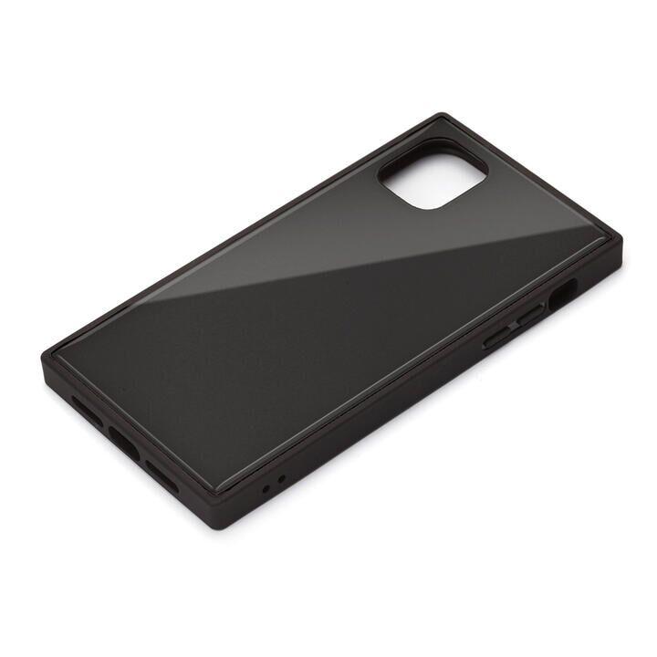 iPhone 11 ケース ガラスハイブリッドケース ブラック iPhone 11_0