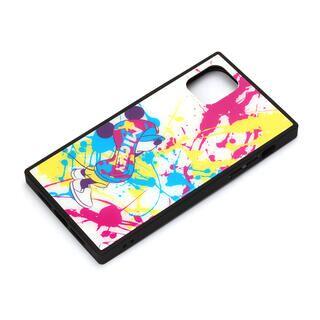 iPhone 11 Pro Max ケース ディズニー ガラスハイブリッドケース ミッキーマウス/スプラッシュ iPhone 11 Pro Max