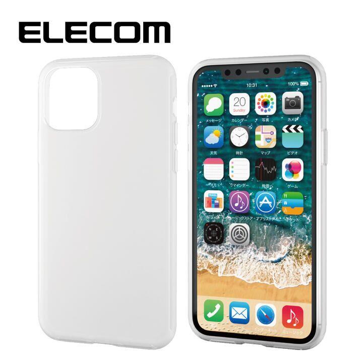 iPhone 11 Pro ケース エレコム シリコンPCハイブリッドケース クリア iPhone 11 Pro_0