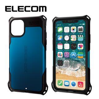 iPhone 11 ケース エレコム ZEROSHOCK 耐衝撃ケース ブルー iPhone 11【9月中旬】