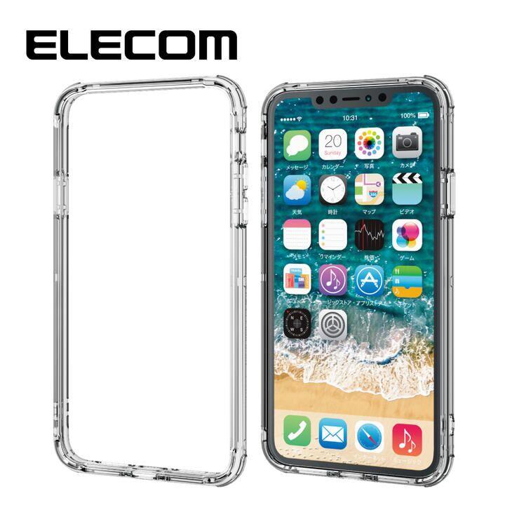 iPhone 11 Pro Max ケース エレコム 耐衝撃バンパー 高透明 クリア iPhone 11 Pro Max_0