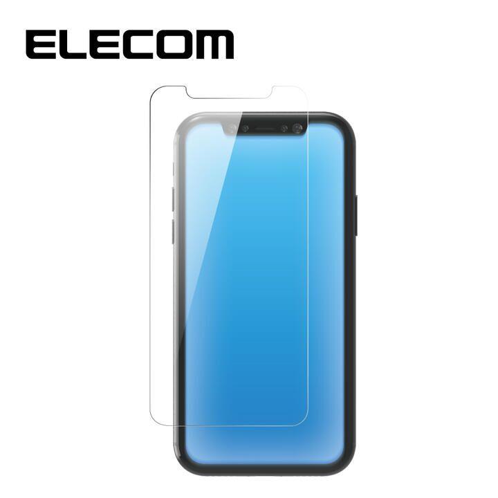iPhone 11 Pro Max フィルム エレコム 超強化 強化ガラス硬度9H BLカット 指紋防止 iPhone 11 Pro Max/XS Max_0