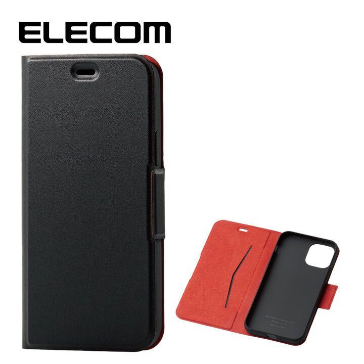 iPhone 11 Pro ケース エレコム レザー手帳型ケース 薄型・超軽量 ブラック iPhone 11 Pro_0