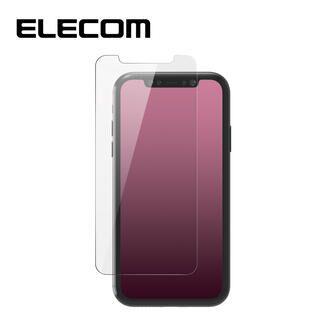 iPhone 11/XR フィルム エレコム 強化ガラス 9H 反射 / 指紋 防止 iPhone 11/XR