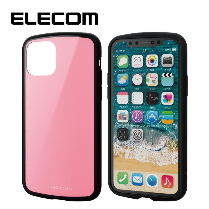iPhone 11 Pro ケース エレコム TOUGH SLIM LITE 衝撃吸収ケース ピンク iPhone 11 Pro_0