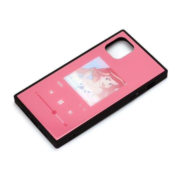 iPhone 11 Pro Max ケース ディズニー ガラスハイブリッドケース アリエル iPhone 11 Pro Max_0