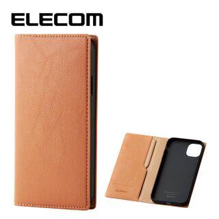 iPhone 11 ケース エレコム レザー手帳型 CORONET 耐衝撃 カード収納 オレンジスカッシュ iPhone 11