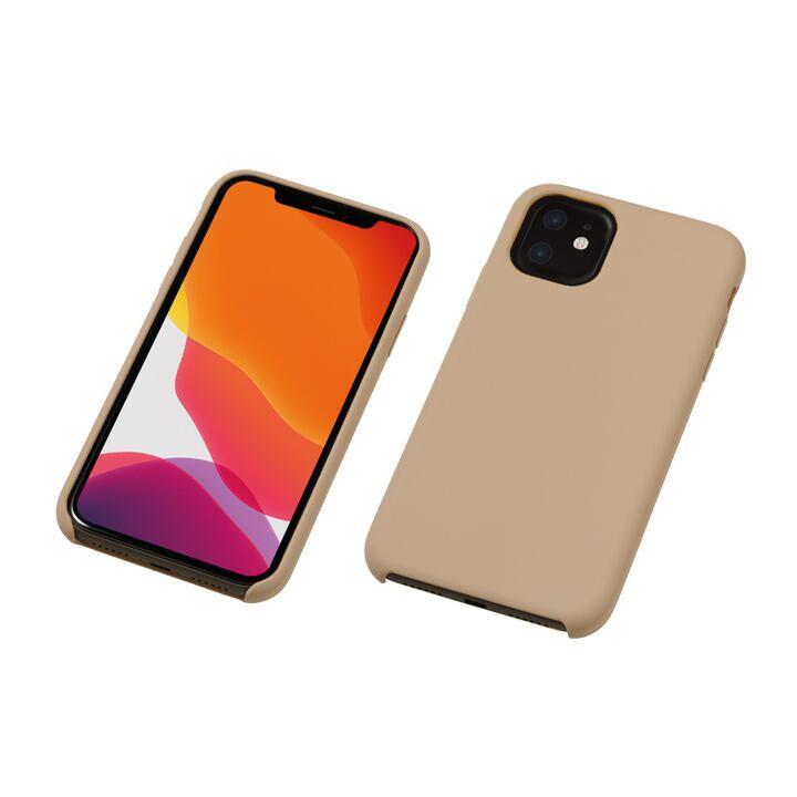 iPhone 11 ケース CRYTONE Hybrid Silicone Hard Case ハイブリッドケース グレージュ iPhone 11_0