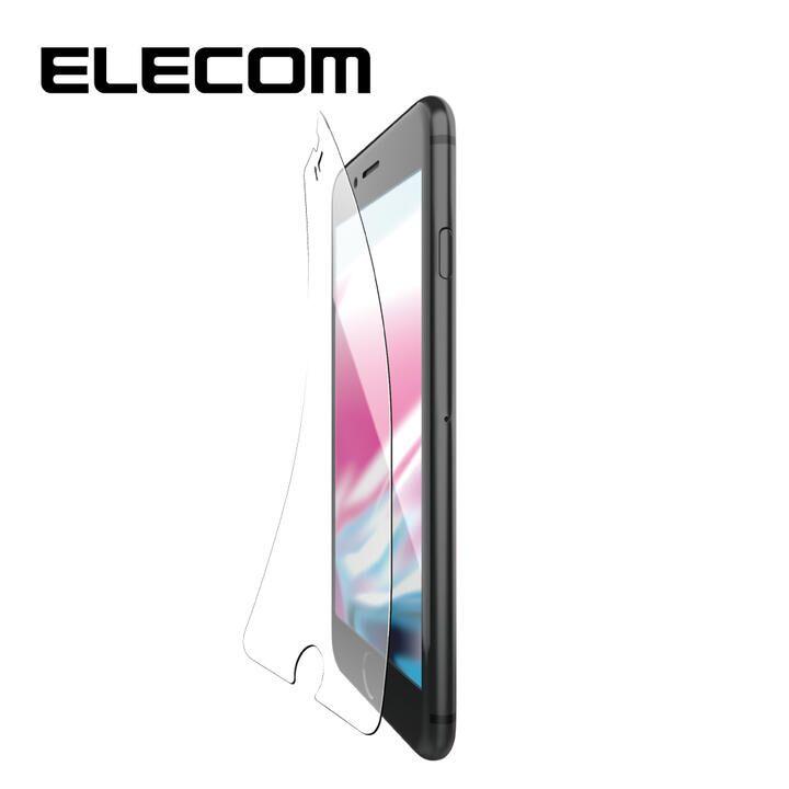 iPhone8/7/6s/6 フィルム エレコム 超最強強化 強化ガラス硬度9H 指紋防止 iPhone 8/7/6s/6_0