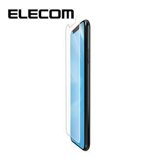 iPhone 11 Pro/XS フィルム エレコム フルカバー超耐衝撃保護フィルム BL 指紋防止 高光沢 透明 iPhone 11 Pro/X/XS