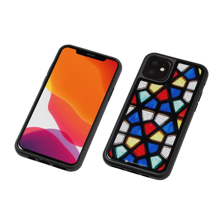 iPhone 11 ケース Hybrid Case Etanze ステンドグラス1 iPhone 11_0
