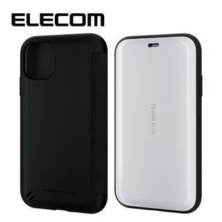 iPhone 11 ケース エレコム TOUGH SLIM 衝撃吸収手帳型ケース ホワイト iPhone 11