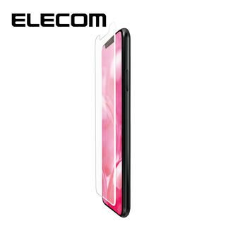 iPhone 11/XR フィルム エレコム フルカバー超耐衝撃保護フィルム 反射 / 指紋 防止 ホワイト iPhone 11/XR
