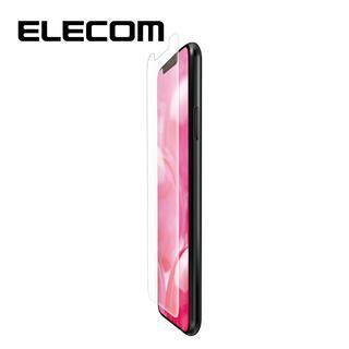 iPhone 11/XR フィルム エレコム フルカバー超耐衝撃保護フィルム 反射 / 指紋 防止 透明 iPhone 11/XR