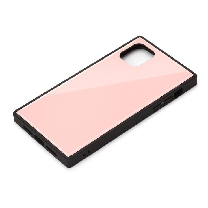iPhone 11 ケース ガラスハイブリッドケース ピンク iPhone 11_0
