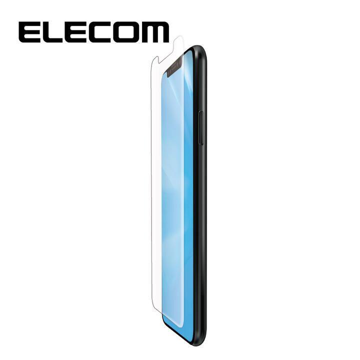iPhone 11 Pro/XS フィルム エレコム フルカバー超耐衝撃保護フィルム BL 指紋防止 高光沢 透明 iPhone 11 Pro/X/XS_0