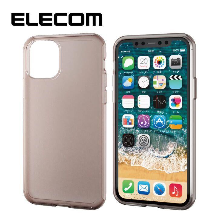 iPhone 11 Pro ケース エレコム シリコンPCハイブリッドケース ブラック iPhone 11 Pro_0