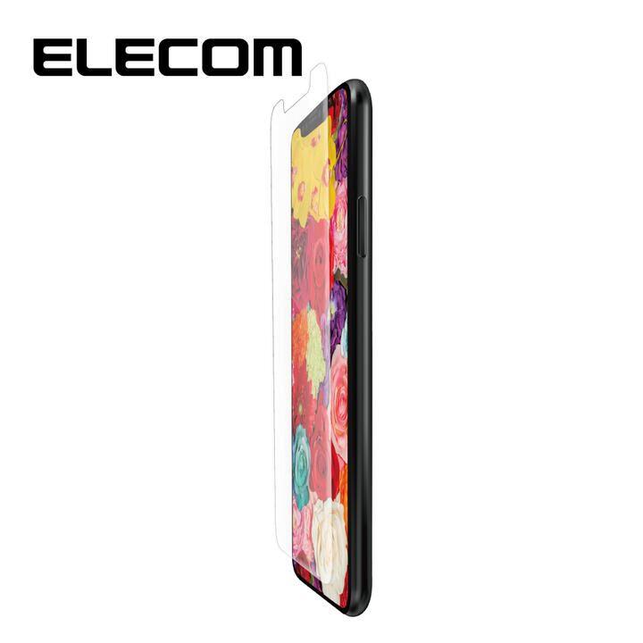 iPhone 11/XR フィルム エレコム 液晶保護フィルム 高精細 衝撃吸収 ブルーライトカット・指紋防止・エアレス・スムースタッチ iPhone 11/XR_0