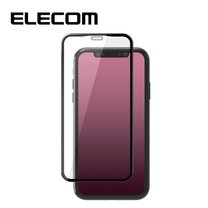 iPhone 11/XR フィルム エレコム 超強化 強化ガラス硬度9H 全面 指紋防止 iPhone 11/XR_0