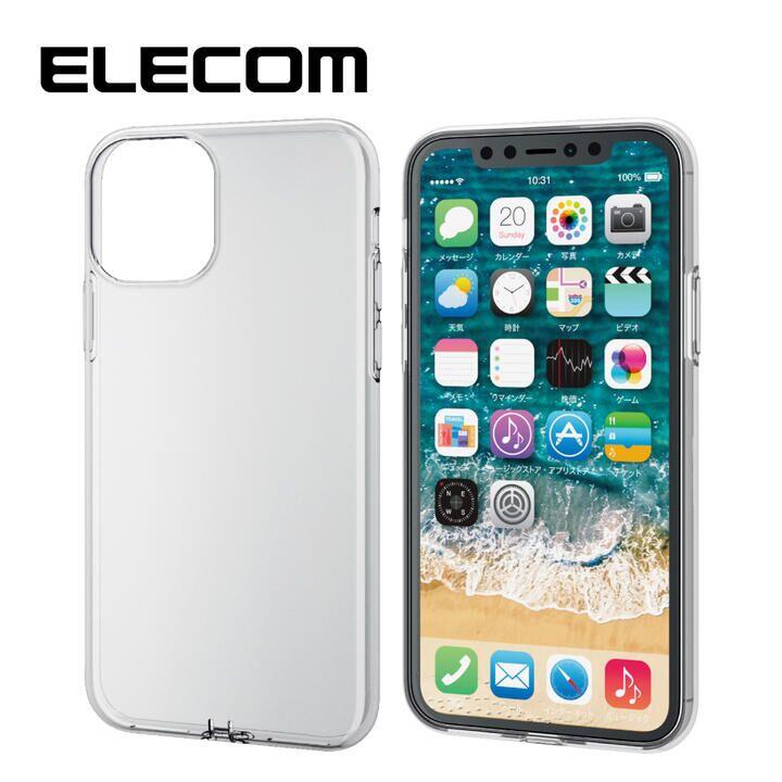 iPhone 11 Pro ケース エレコム フォルティモ TPUクリアケース クリア iPhone 11 Pro_0