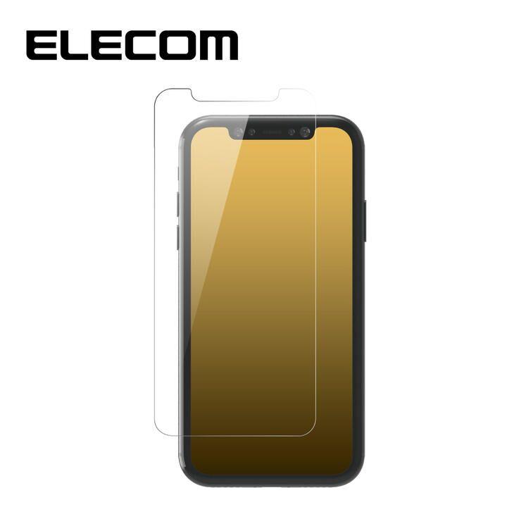 iPhone 11 Pro/XS フィルム エレコム 超強化 強化ガラス硬度9H 指紋防止 エアーレス iPhone 11 Pro/X/XS_0