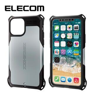 iPhone 11 Pro ケース エレコム ZEROSHOCK 耐衝撃ケース シルバー iPhone 11 Pro